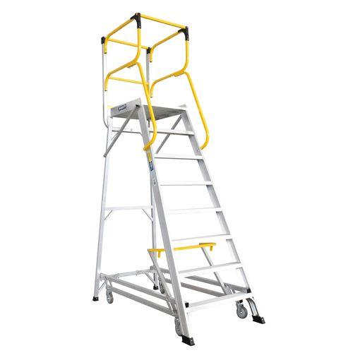 Bailey 2209mm 200kg Access 8 Aluminium Ladderweld Platform Ladder