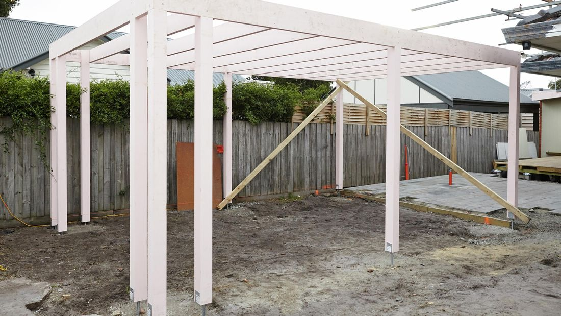 How To Build A Carport D I Y Bunnings New Zealand