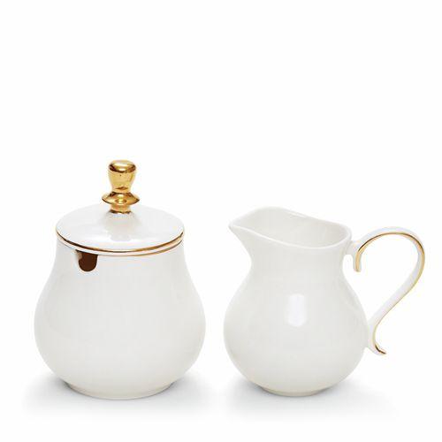 ECLECTIC Sugar Bowl and Creamer Set