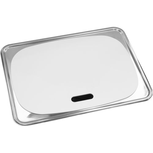 Milena 45L Stainless Steel Inset Laundry Trough With Lid