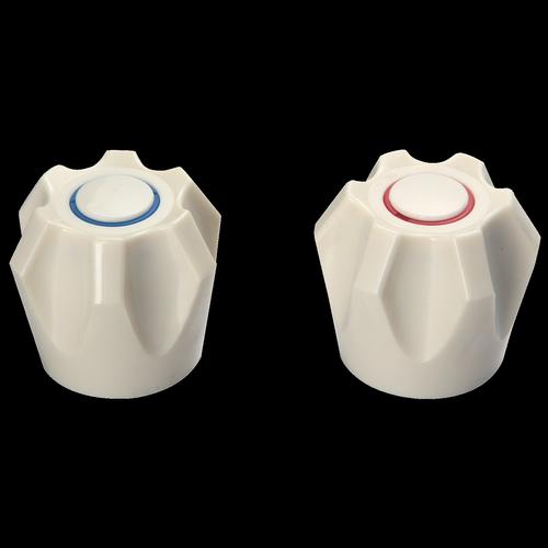 Shaw & Mason Ivory PVC 6 Point Style Handles