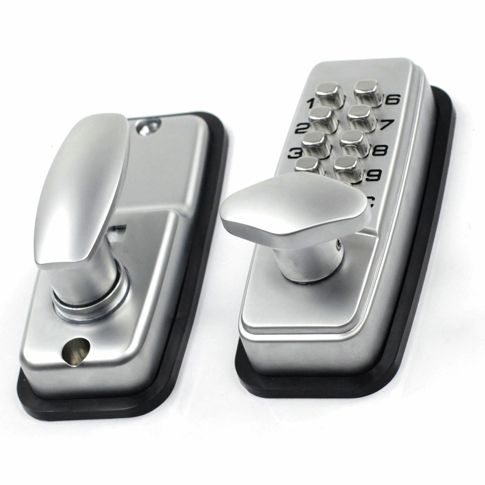 Ikonic Satin Chrome Digital Entry Lock