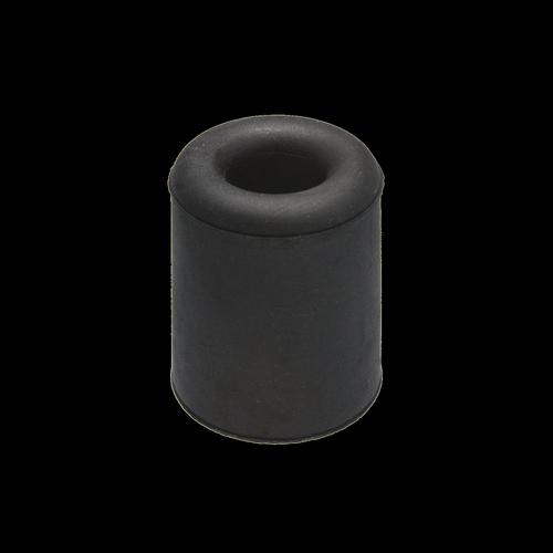 Adoored 37mm Black Rubber Round Door Stop