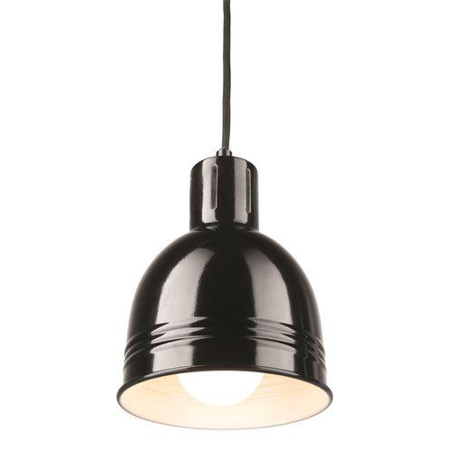 Brilliant Gloss Black Milly DIY Suspension Light