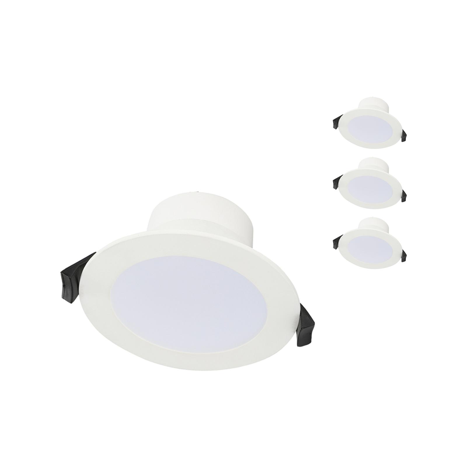 Luce Bella 5W 70mm Tri-CCT LED Downlight - 4 Pack