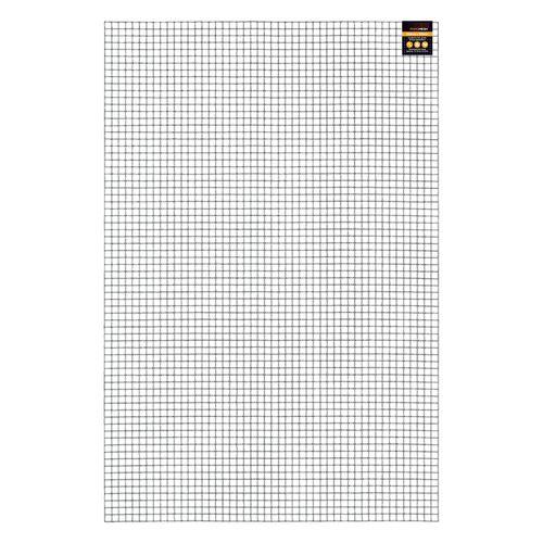 RapidMesh 600 x 900mm 12.7 x 12.7mm Silver Wire Mesh Panel