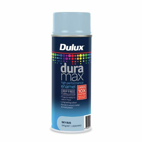 Dulux 340g Duramax Gloss Sky Bus Spray Paint