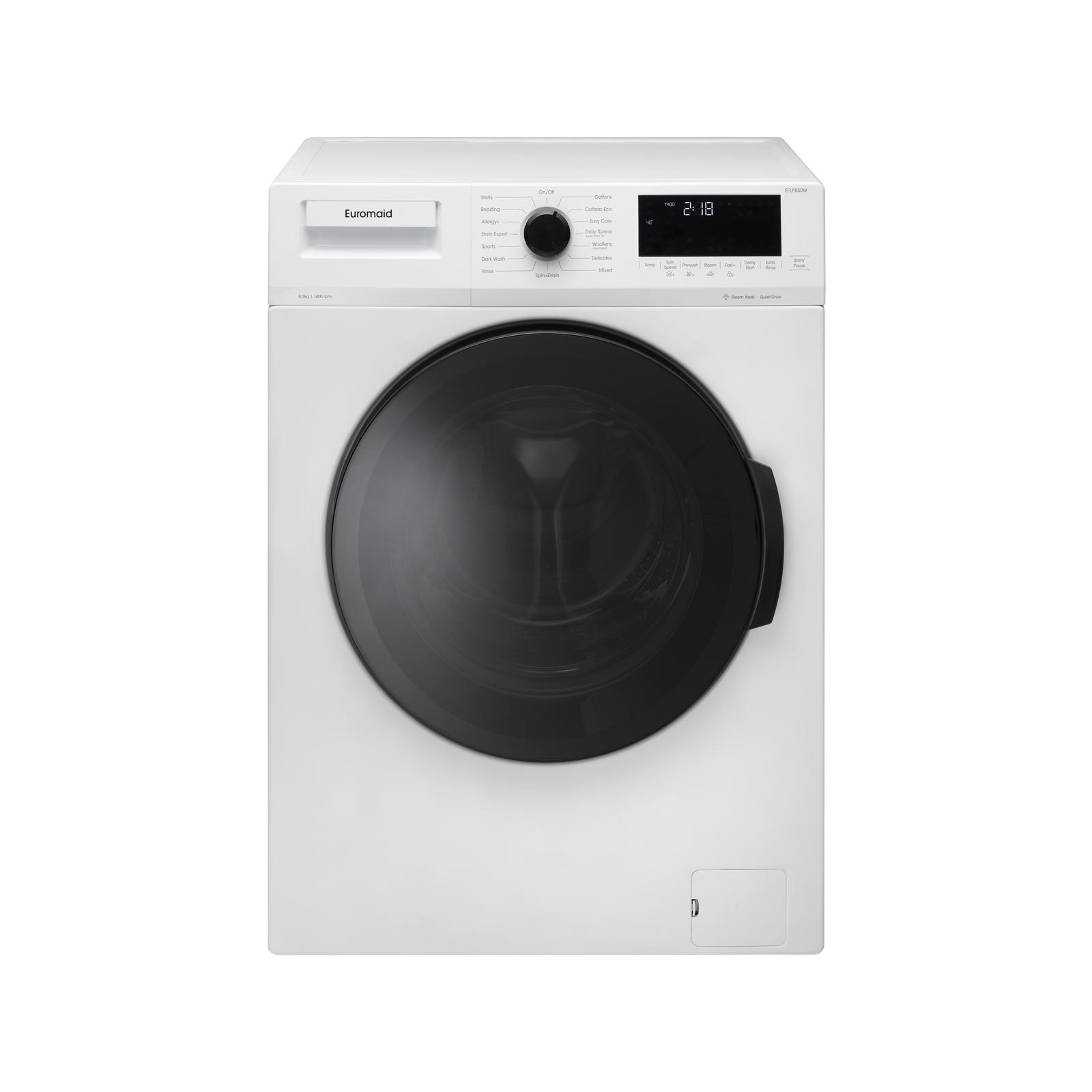 Euromaid EFL1000W 10kg Front Load Washing Machine