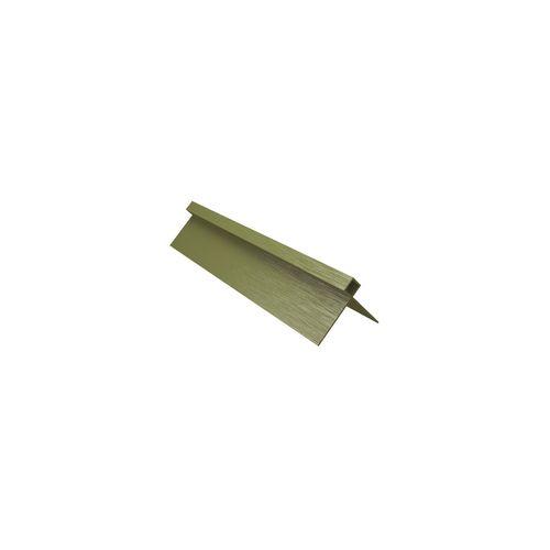 BGC Fibre Cement 3000 x 36mm Aluminium Stratum Contour External Corner