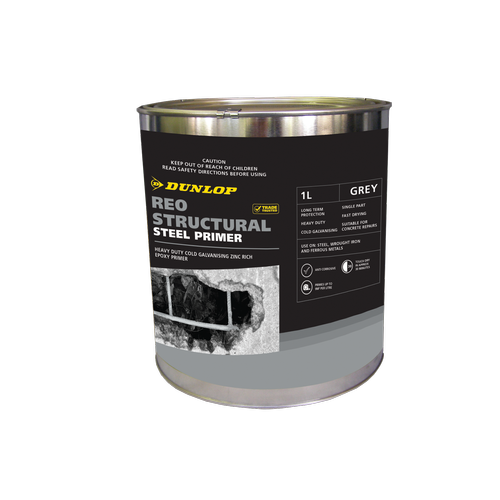 Dunlop 1L Galvanising Reo Structural Steel Primer