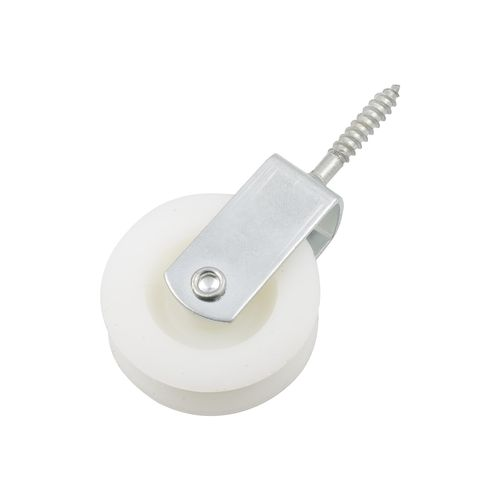 Zenith 50mm Zinc Plated Nylon Fixed Pulley