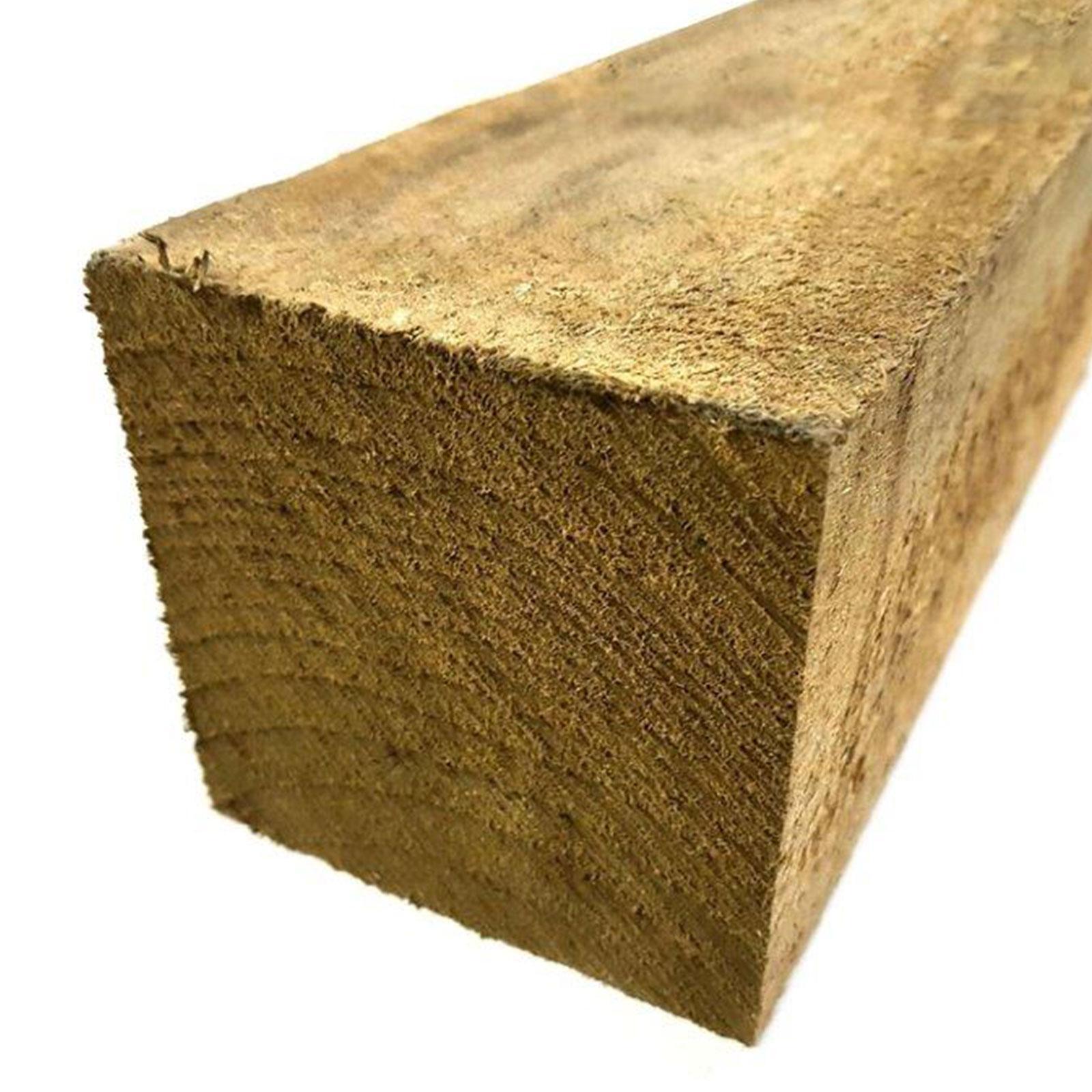 100 x 100mm Rough Sawn Treated Pine - 2.4m