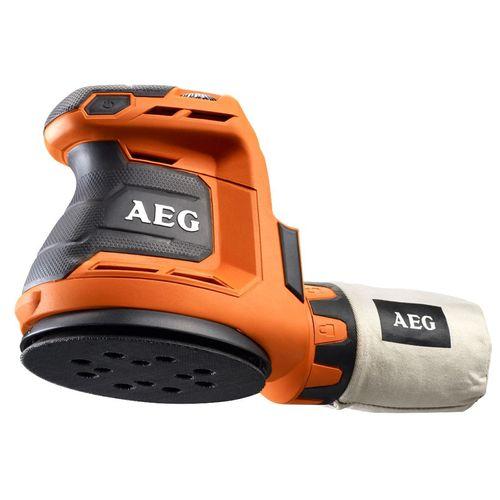 AEG 18V 125mm Random Orbital Sander - Skin Only