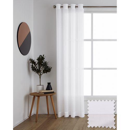 Windoware 1400 x 2230mm Sheer Misty Eyelet Curtain - Misty White