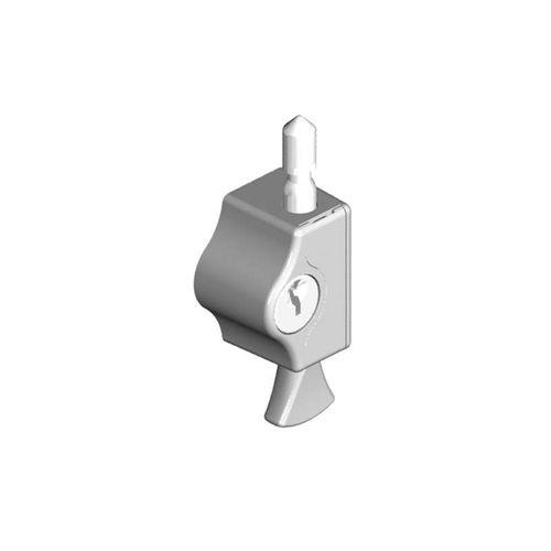 Yale Pushlock Window Lock Silver
