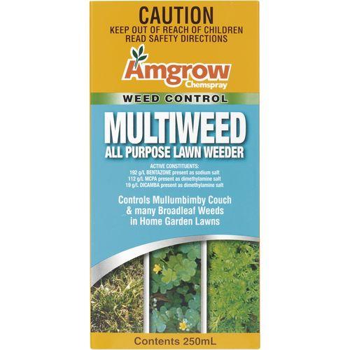 Amgrow 250ml Multiweed All Purpose Lawn Weeder
