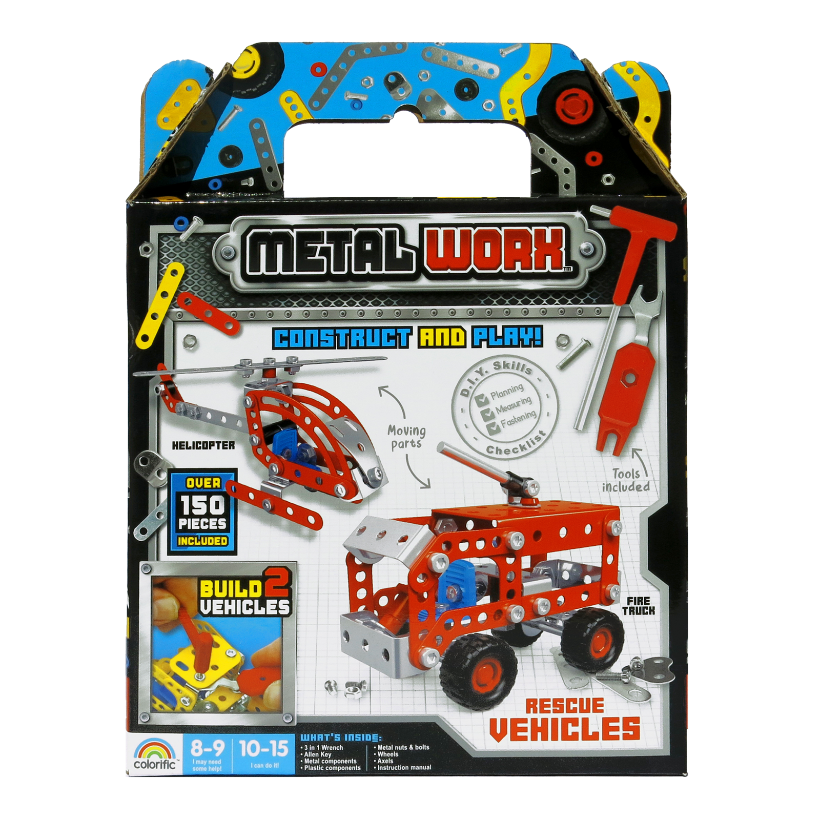 Metal Worx Rescue Vehicles - Twin Pack