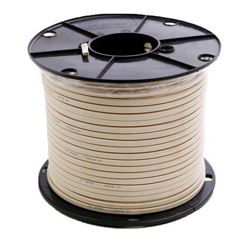 Nexans 2.5mm x 100m White 2C+E V90 Flexi Cable