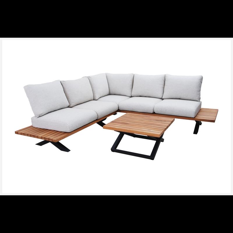 Reema Aluminium Corner Lounge Setting
