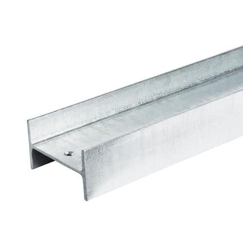 7 Steel Ezi Retain 100 x 55mm x 1.8m H Section Galvanised Sleeper Uprights
