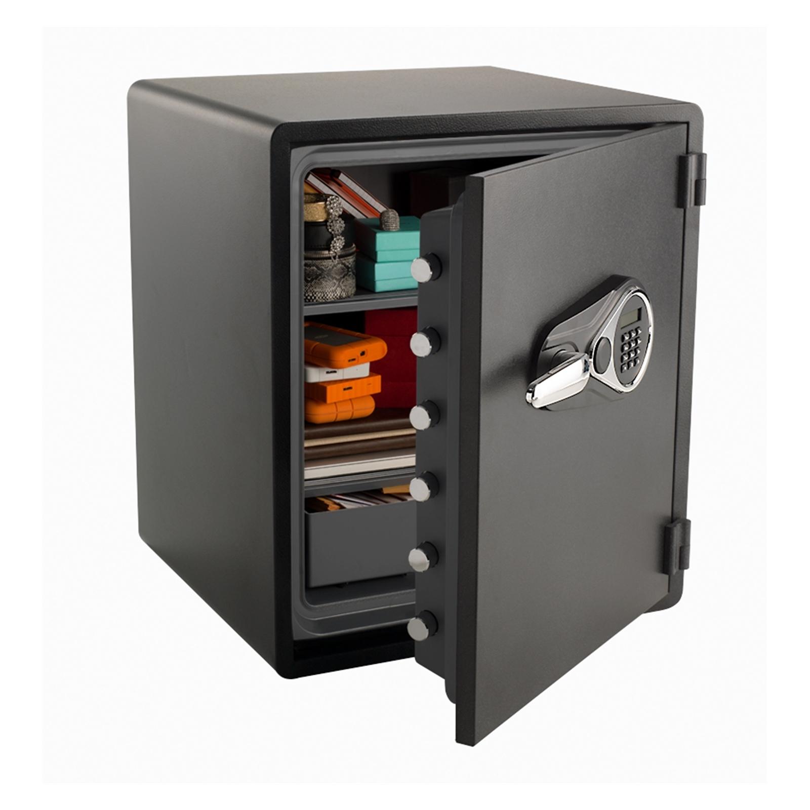 Sandleford 60L Karbon Black Fire And Waterproof Safe