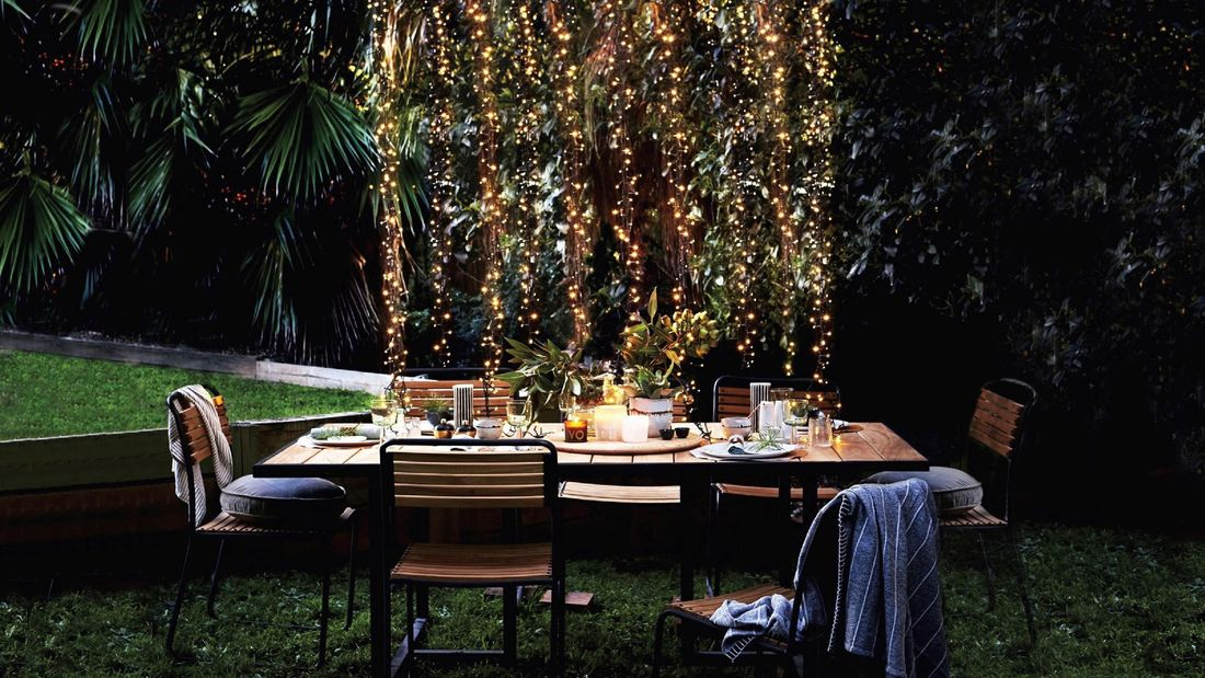 DIY Advice Image - Transform your outdoor spaces with string lights. G Drive blob storage upload.