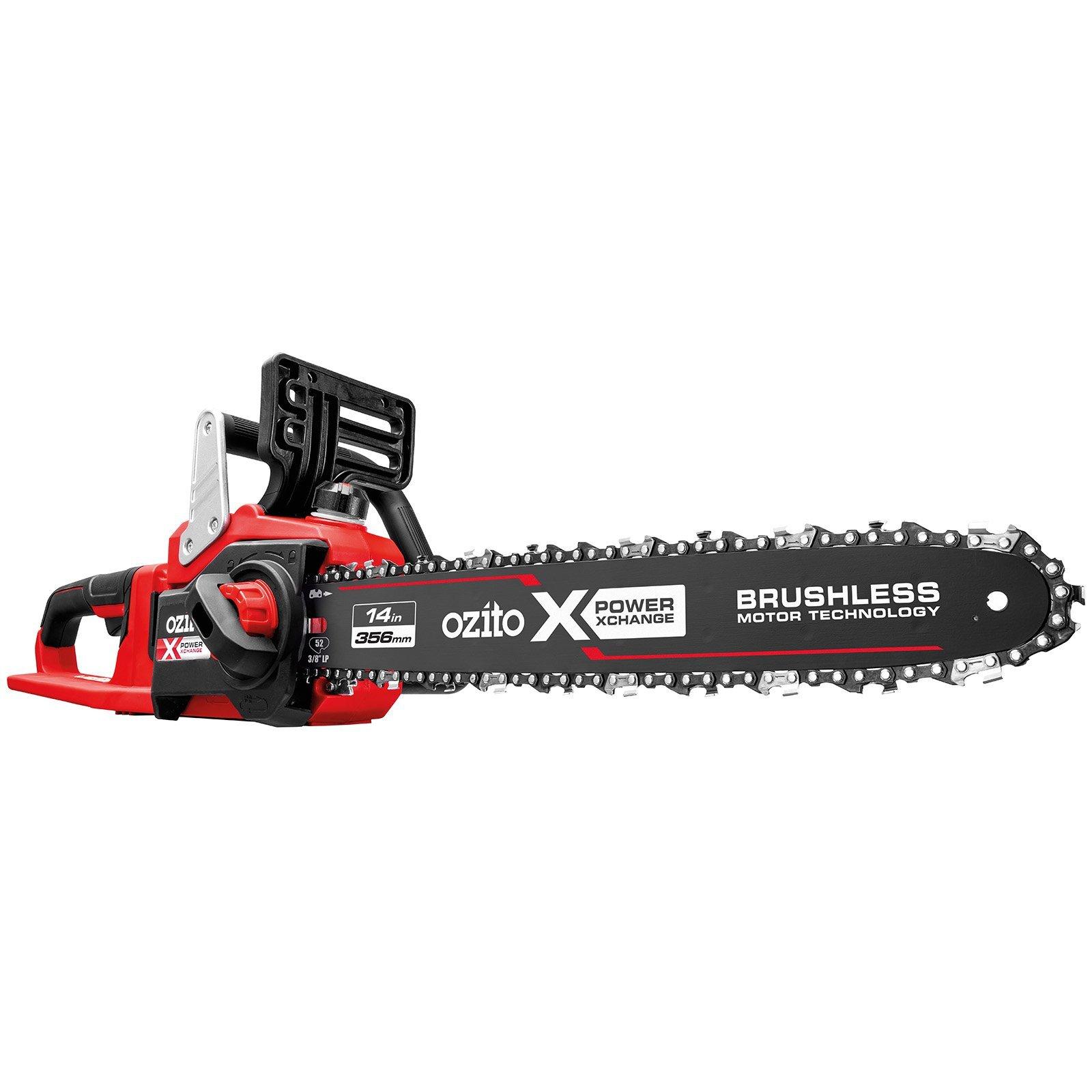 Ozito PXC 2 x 18V Brushless Chainsaw - Skin Only