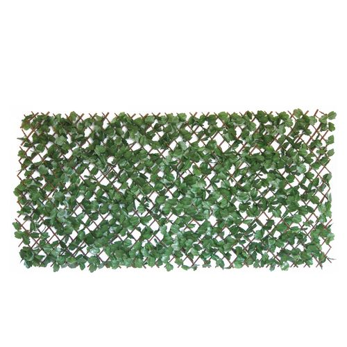 Lotus Collection 2 x 1m Dark Ivy Cloth Artificial Hedge Trellis