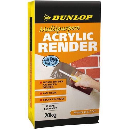 Dunlop 20kg Multipurpose Acrylic Render
