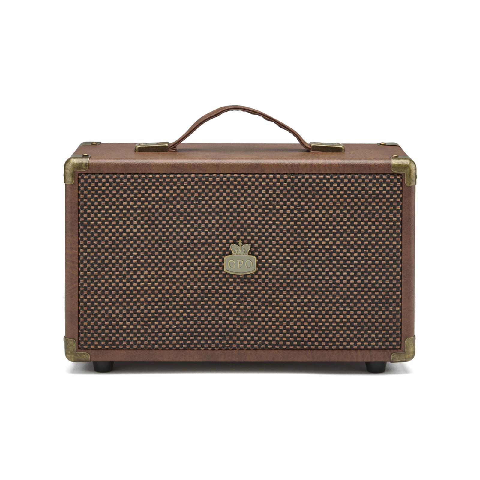 GPO WESTWOOD Bluetooth Speaker - BROWN