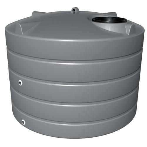 NextGenRoto 3150L Polyethylene Squat Round Water Tank - Armour Grey