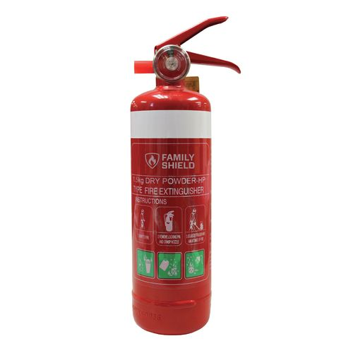 Family Shield 1.5kg Fire Extinguisher