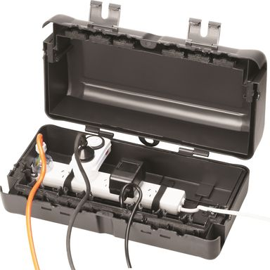 Excalibur 6 Outlet Outdoor Safety Box Bunnings Warehouse