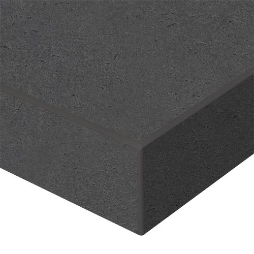 Kaboodle 2400x600x38mm Squid Ink Laminate Benchtop