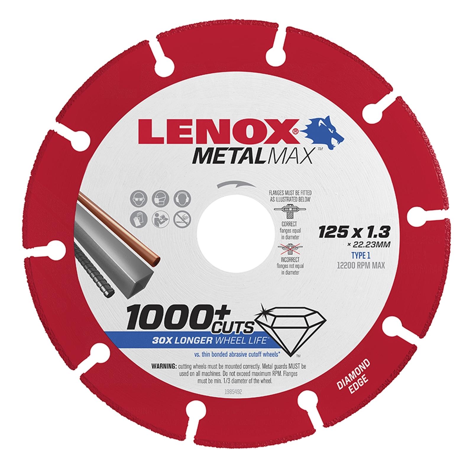 Lenox 125 x 1.3mm Metal Max Blade