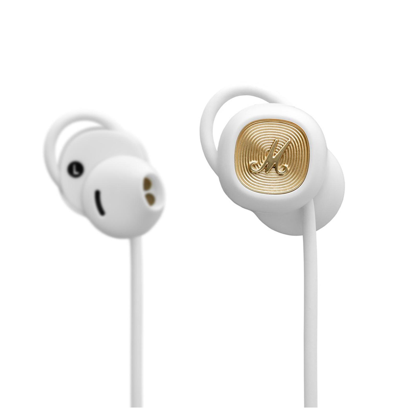 Marshall Minor II BT Wireless Bluetooth 12h Play Time In-Ear Earphones w/Mic WHT