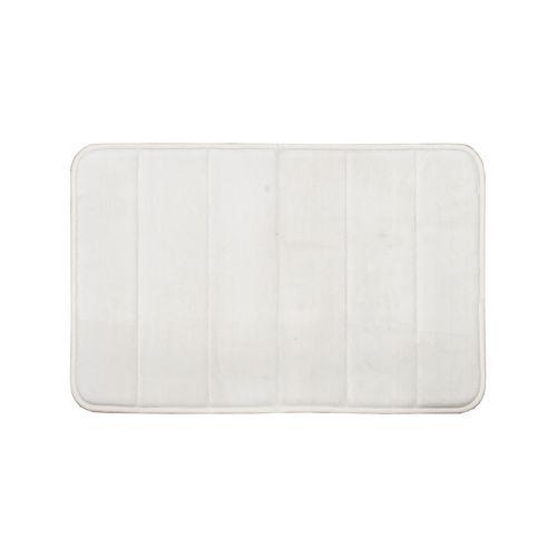 Softouch 60 x 40cm Beige Monarch Memory Foam Bathmat