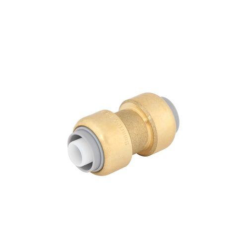 SmarteX P 16mm Push Fit Brass Pex Coupling
