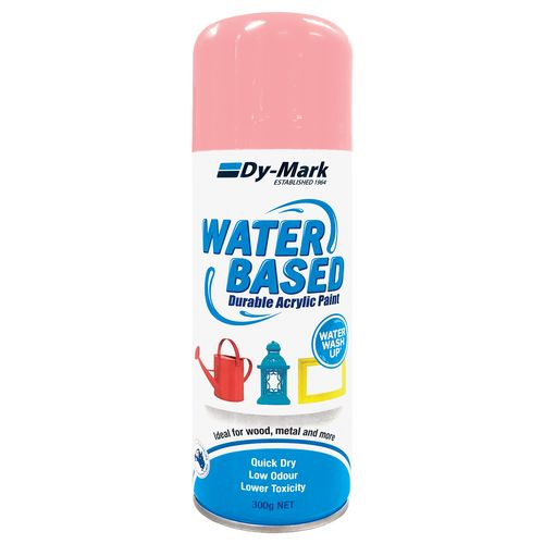 Dy-Mark 300g Water Based Gloss Rose Pink Acrylic Spray Paint