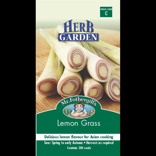 Mr Fothergills Lemon Grass Seeds