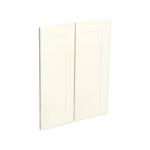 Kaboodle Antique White Alpine Corner Wall Cabinet Door - 2 Pack