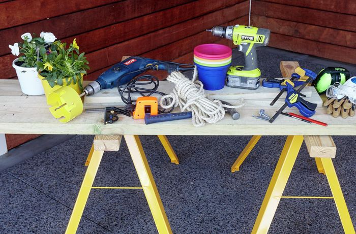 Selection of tools required for this project