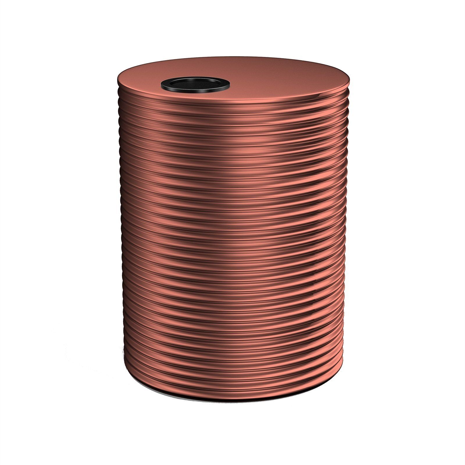 Kingspan 3000L Round Steel Water Tank - 1500mm x 1860mm Manor Red
