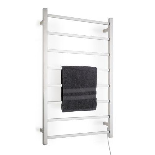 Arlec 95W 8 Bar Heated Stainless Steel Towel Rail