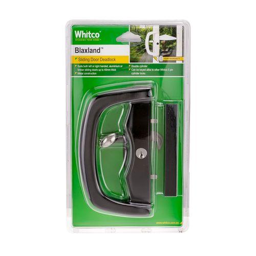 Whitco Blaxland Black Patio Sliding Door Lock