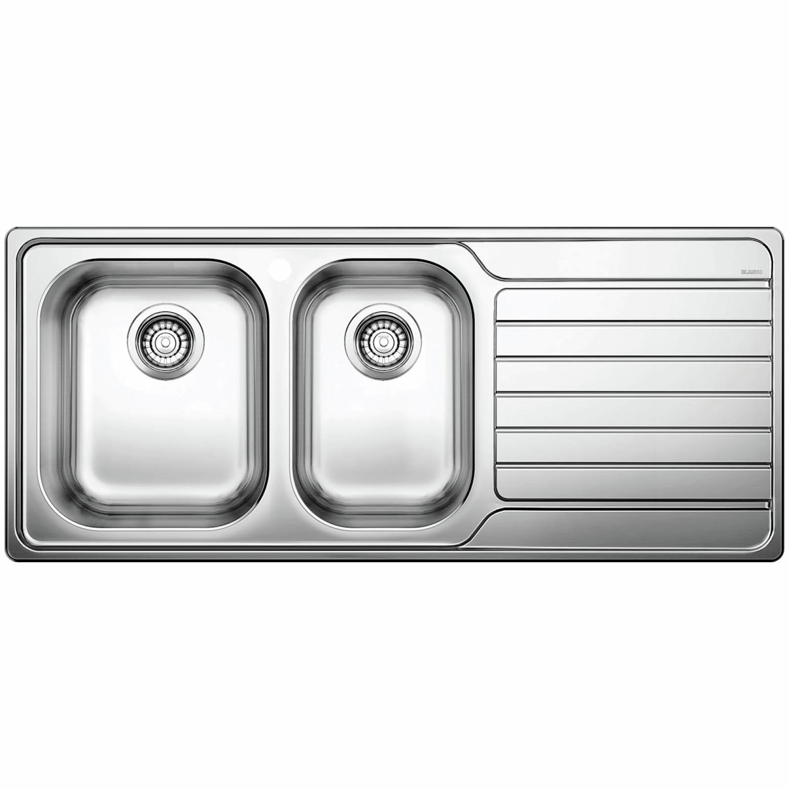 Blanco 1160mm Stainless Steel Dinas 8S Left Hand Bowl Sink