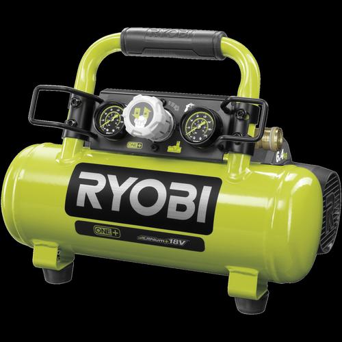 Ryobi 18V One+ 3.8L Air Compressor - Skin Only