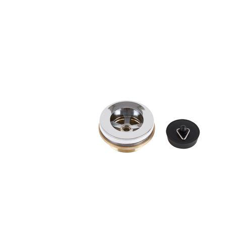 Kinetic 32 - 40mm Chrome Basin Waste With Plug