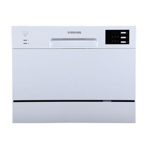 Everdure 55cm White Countertop Dishwasher