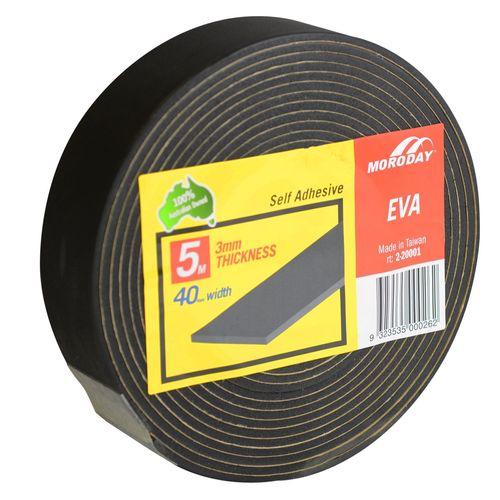 Moroday 40 x 3mm x 5m Small Adhesive Seal Roll